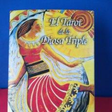 Barajas de cartas: EL TAROT DE LA DIOSA TRIPLE/ISHA LERNER/PERITO EN LUNAS, 2006. Lote 176154829
