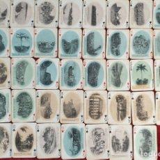 Barajas de cartas: JUEGO DE 48 CARTAS. PLAYING CARDS. ESTADOS UNIDOS. PAMNAMA SOUVENIR. 1908. . Lote 176238189