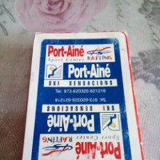 Barajas de cartas: BARAJA COMAS DE PUBLICIDAD. Lote 176268075