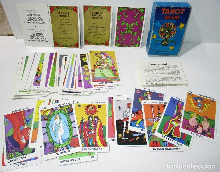 BARAJA TAROT BALBI HERACLIO FOURNIER AÑOS 70 (Juguetes y Juegos - Cartas y Naipes - Barajas Tarot)