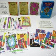 Barajas de cartas: BARAJA TAROT BALBI HERACLIO FOURNIER AÑOS 70. Lote 176278877