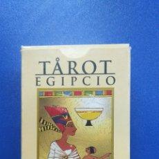 Barajas de cartas: BARAJA TAROT EGIPCIO ORBIS FABRI . Lote 176283327