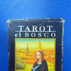 Barajas de cartas: BARAJA TAROT EL BOSCO ORBIS FABRI BARAJAS SIN DESPRECINTAR. Lote 176285604