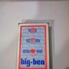 Barajas de cartas: NAIPE ANTIGUA DISCOTECA BIG BEN MOLLERUSA. Lote 176299263