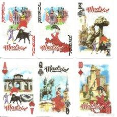 Barajas de cartas: BARAJA DE POKER DEDICADA A MADRID - NUEVA - 52 CARTAS. Lote 176494420