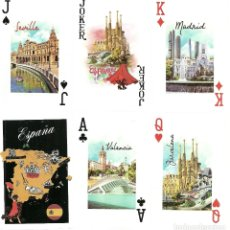 Barajas de cartas: BARAJA DE POKER DEDICADA A ESPAÑA - NUEVA - 52 CARTAS. Lote 176494563