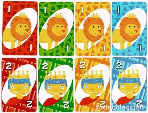 Barajas de cartas: UNO, baraja o mazo de juego de cartas - Mattel Games/Burger King, 2012 - Foto 3 - 176499399