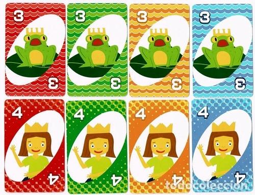 Barajas de cartas: UNO, baraja o mazo de juego de cartas - Mattel Games/Burger King, 2012 - Foto 4 - 176499399