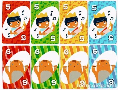 Barajas de cartas: UNO, baraja o mazo de juego de cartas - Mattel Games/Burger King, 2012 - Foto 5 - 176499399