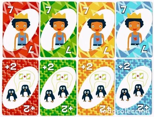 Barajas de cartas: UNO, baraja o mazo de juego de cartas - Mattel Games/Burger King, 2012 - Foto 6 - 176499399