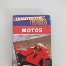 Baralhos de cartas: JUEGO DE CARTAS/BARAJAS FOURNIER/MOTOS.. Lote 176544680