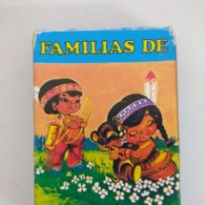 Barajas de cartas: JUEGO DE CARTAS/BARAJAS FOURNIER/FAMILIAS DE 7 PAISES.. Lote 176546595