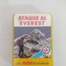 Barajas de cartas: JUEGO DE CARTAS/BARAJAS FOURNIER/ATAQUE AL EVEREST/LOS MINIS DE FOURNIER.. Lote 176547852