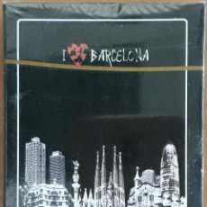Barajas de cartas: BARAJA POKER I LOVE BARCELONA. Lote 176621533