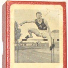 Barajas de cartas: OLIMPIADA 1936 - MUY ANTIGUA BARAJA JUMBO - EN HOLANDÉS - LENI RIEFENSTAHL ?. Lote 176660879