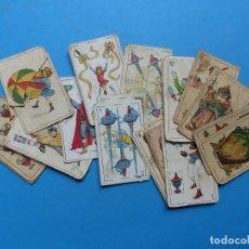 Barajas de cartas: 28 ANTIGUOS NAIPES DIFERENTES - VER FOTOS ADICIONALES. Lote 176670810