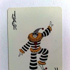 Barajas de cartas: JOKER-COMODIN DE BARAJA DE CARTAS.. Lote 176680359
