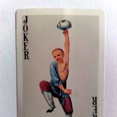 Barajas de cartas: JOKER-COMODIN DE BARAJA DE CARTAS.. Lote 176681414
