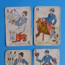 Barajas de cartas: 6 ANTIGUOS NAIPES DIFERENTES - VER FOTOS ADICIONALES. Lote 176717363