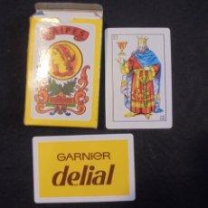 Barajas de cartas: BARAJA NAIPES GARNIER DELIAL COMPLETA. Lote 176726335