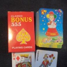 Barajas de cartas: BARAJA CARTAS CLASSIC BONUS 555. Lote 176726699