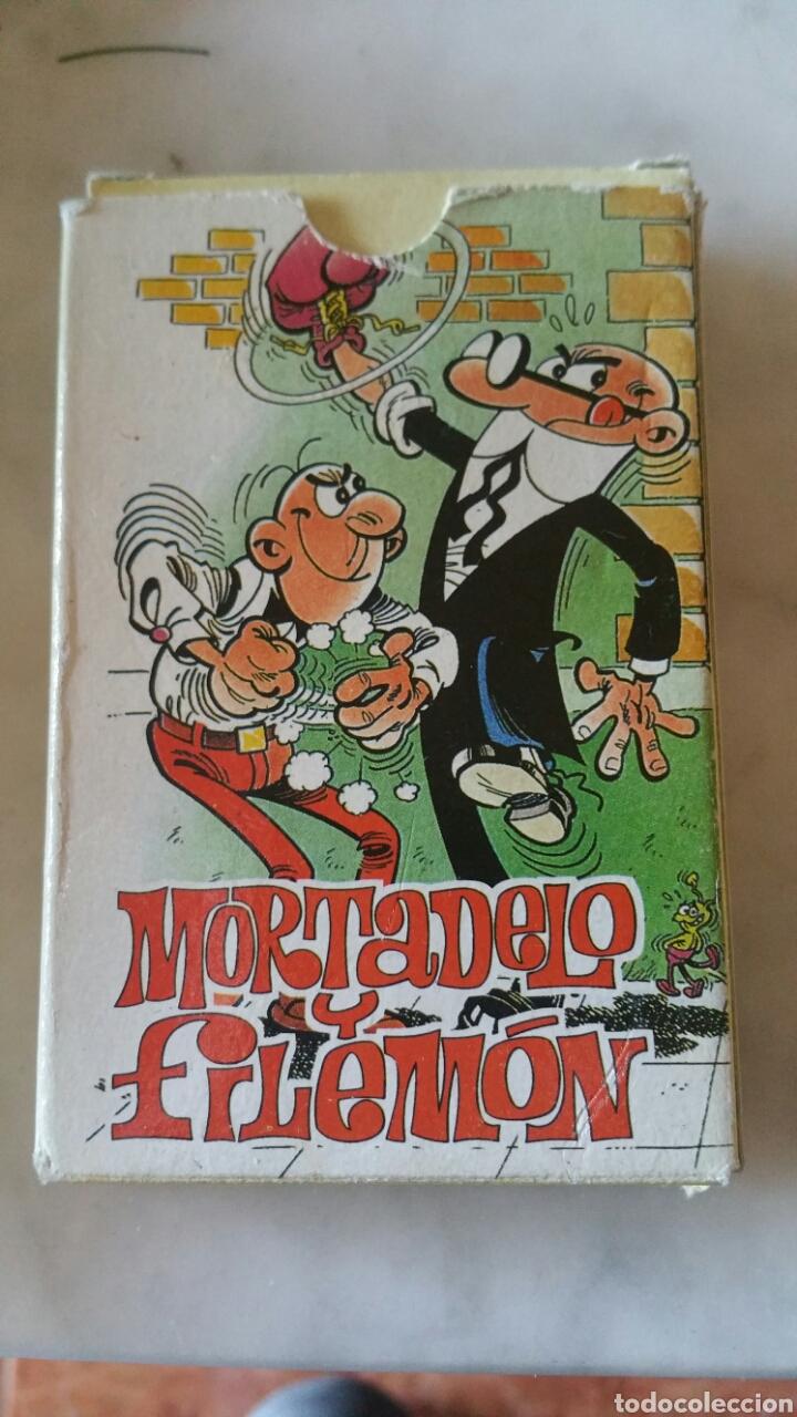 MORTADELO Y FILEMON 1994. COMPLETA BARAJA CON INSTRUCCIONES (Juguetes y Juegos - Cartas y Naipes - Barajas Infantiles)