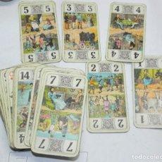 Barajas de cartas: ANTIGUA BARAJA DE TAROT, CARTAS, DE CARTA MUNDI, TURNHOUT, BELGICA, TIENE 78 CARTAS,TAL COMO SE VE E. Lote 176727634