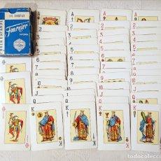 Barajas de cartas: HERACLIO FOURNIER · POKER ESPAÑOL · 54 CARTAS · BARAJA COMPLETA . Lote 176816814