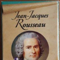Barajas de cartas: BARAJA FRANCESA JEAN-JACQUES ROUSSAU. Lote 176842694