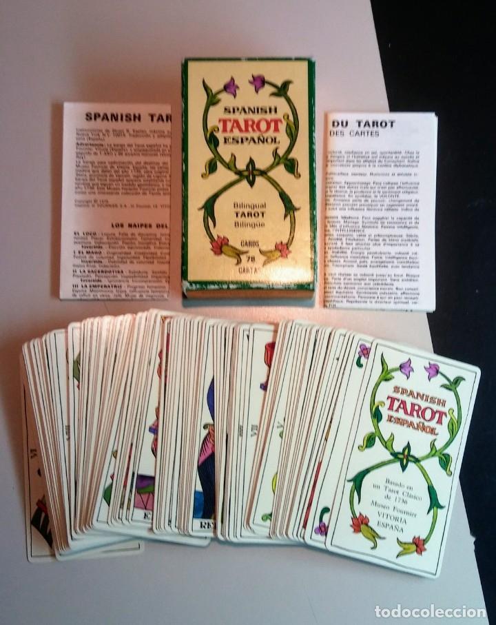 Barajas de cartas: JUEGO CARTAS TAROT DE MARSELLA BILINGUAL - Foto 2 - 176868403