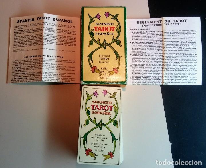 Barajas de cartas: JUEGO CARTAS TAROT DE MARSELLA BILINGUAL - Foto 3 - 176868403
