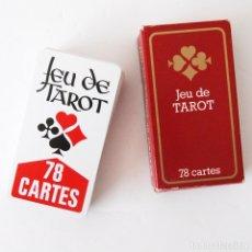 Barajas de cartas: JEU DE TAROT - JUEGO TAROT - 78 CARTAS - PÓKER - FILTOYS - FABRICADAS EN FRANCIA. Lote 176998655