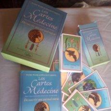 Barajas de cartas: LAS CARTAS DE LA MEDICINA -EN FRANCES COMO NUEVAS. Lote 177198619