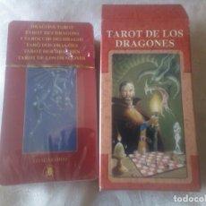 Barajas de cartas: TAROT DE LOS DRAGONES LO SCARABEO 78 CARTAS PRECIOSO NUEVO SIN ABRIR. Lote 177199760