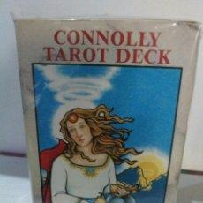 Barajas de cartas: CONNOLLY TAROT(1989).CAJA CLARA. COLECCIONISTAS.. Lote 177337534