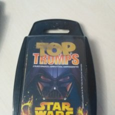 Barajas de cartas: JUEGO DE CARTAS - TOP TRUMPS - STAR WARS EPISODIOS I - III - AÑO 2005 - COMPLETA 30 CARTAS. Lote 177379310