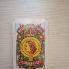Barajas de cartas: BARAJA MAESTROS NAIPEROS AZAHAR CC.OO•CGT•UNSA. Lote 177398202