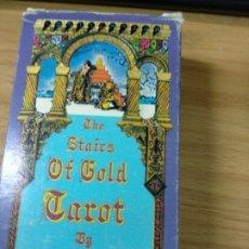 Barajas de cartas: BARAJA TAROT ESCALERA DE ORO / STAIRS OF GOLD, 1980 U.S.GAMES / HERACLIO FOURNIER,TAVAGLIONE. Lote 177419263