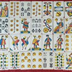 Barajas de cartas: JUEGO DE CARTAS. 36 NAIPES. IMPRESO EN LITOGRAFÍA. J. MÜLLER. SUIZA. SIGLO XIX-XX. Lote 177459518