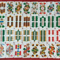 Barajas de cartas: JUEGO DE CARTAS. 36 NAIPES. TAROK FEINSTE BAYERISCHE SPIELKARTEN. ALEMANIA. 1962.. Lote 177464808