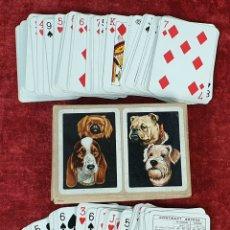 Barajas de cartas: JUEGO DE CARTAS. DOBLE BARAJA. HERACLIO FOURNIER. 54 CARTAS. SIGLO XX. . Lote 177466515