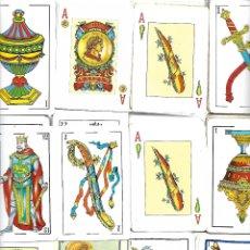 Barajas de cartas: CAJA CON BARAJAS INCOMPLETAS TODAS DISTINTAS CON MAS DE 600 CARTAS VER FOTOS. Lote 177574398
