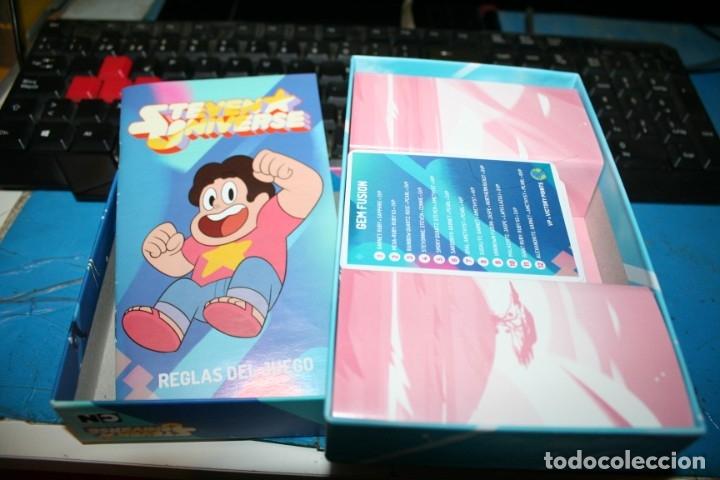 Barajas de cartas: juego de cartas sin uso steven universe - Foto 3 - 177595535