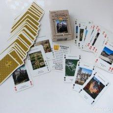 Barajas de cartas: BARAJA DE NAIPES TIPO POKER CON FOTOGRAFÍAS DE LOS CASTILLOS MAS REPRESENTATIVOS DE ALEMANIA. Lote 177744093