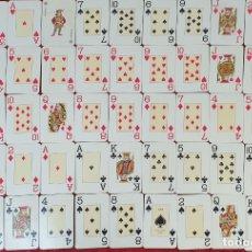 Barajas de cartas: JUEGO DE CARTAS. 52 NAIPES. HERACLIO FOURNIER. Nº 826. TIMBRE VERDE. CIRCA 1960. . Lote 177774655