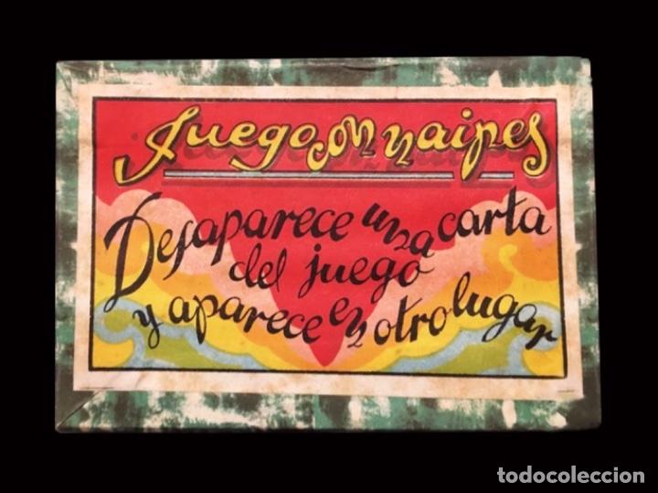 RARÍSIMO JUEGO DE CARTAS PARA MAGIA, SEBASTIÁN COMAS Y RICART, BARCELONA.RAREZA. (Juguetes y Juegos - Cartas y Naipes - Baraja Española)
