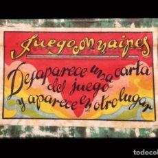Barajas de cartas: RARÍSIMO JUEGO DE CARTAS PARA MAGIA, SEBASTIÁN COMAS Y RICART, BARCELONA.RAREZA.. Lote 176495302
