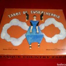 Barajas de cartas: MUY DIFÍCIL DE ENCONTRAR. TAROT EUSKALHERRIA.. Lote 177826834