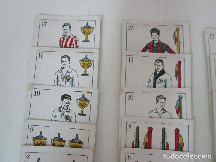 Barajas de cartas: Antigua Baraja de Futbol - Cromos de Chocolates A. Amatller - 48 Cartas, Completa - Años 20-30 - Foto 3 - 178209721