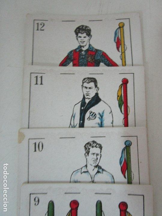 Barajas de cartas: Antigua Baraja de Futbol - Cromos de Chocolates A. Amatller - 48 Cartas, Completa - Años 20-30 - Foto 5 - 178209721